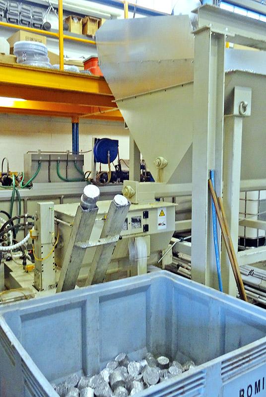 compactage et traitement des copeaux technifiltre